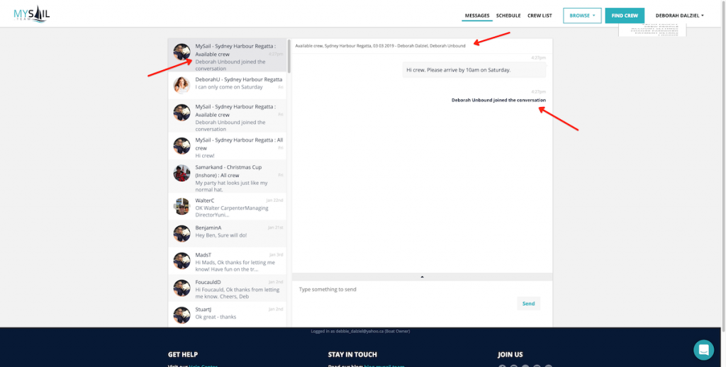Messaging updates provide  more visibility and flexibility