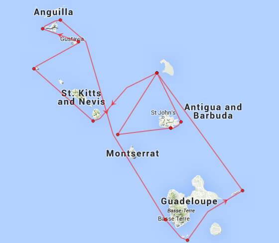 RORC Caribbean Course