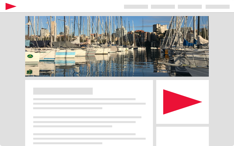marketing and web development services for yacht clubs